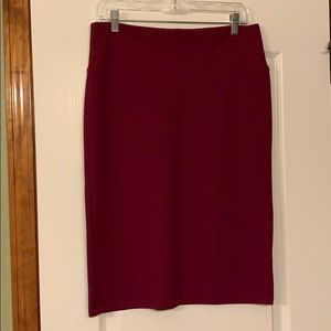 You get TWO Lularoe Cassie Pencil Skirts for $15